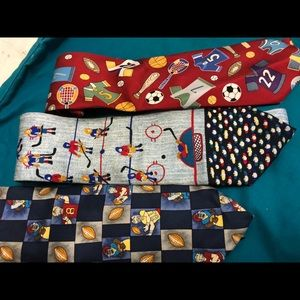 Sports themed Ties